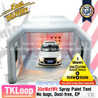 Giant Inflatable Car Spray Paint Tent Portable Auto Home Depot Outdoor Party