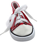 18 inch Canvas Lace Up Sneakers Shoes Toys  For American Girl & Boy Kids Doll CH