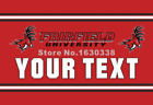 Fairfield Stags Your Text Flag Polyester Banner Flying Size Custom Flag