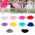 Внешний вид - Baby Kids Girl Three Layered Ballet Dance Tutu Skirt Classic Mini Pleated Dress