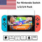 1/2/4X Premium HD Tempered Glass Screen Protector Film Guard for Nintendo Switch