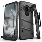 Zizo BOLT Case for Samsung Galaxy S9 w/ Holster and Tempered Glass