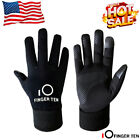 Kids Gloves Winter Boys Youth Warm Insulated Fleece Lining Fits 4 15 Year Sports