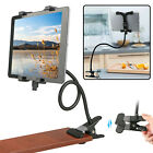 "Gooseneck Tablet Holder Bed Kitchen Mount 20"" Arm for iPad Mini/ Pro 7""-10"" Tabs"