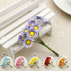 10 Pcs Mini Daisy Artificial Flowers Bouquet DIY Potted Wedding Home Decor Gift