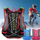 15L Reflective Bike Bicycle Hydration Pack Backpack+2L Water Bag Camelbak Hiking