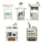 Gamy Quality Bedside End Table Nightstand Home Furniture Magazine Storage Rack