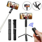 Bluetooth Wireless Selfie Stick Shutter Remote Extendable Tripod Phone Holder US