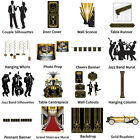 ROARING 20'S CHARLESTON THEMED DECORATIONS - COMPLETE PARTY COLLECTION
