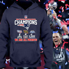 New England Patriots Champions Super Bowl Liii 2019 Hoodie Shirt Size S-2XL on eBay