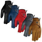 2019 Callaway Mens Left Hand OptiColor Golf Glove Full Leather Adjustable