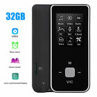 32GB HiFi MP3 MP4 Music Player Walkman Voice Recorder FM Radio with Card Slot