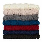 Kate and Laurel Chunky Knit Throw - 50X60 image