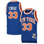 BOYS Sizes 8-20 PATRICK EWING New York Knicks Throwback Jersey on eBay