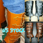 Kyпить Men's Deluxe Leather Military Gaiters Steampunk Brown Black Leather Gaiters  на еВаy.соm