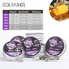 Coil Father 10pcs/box Ni80 Ni90 Nichrome Coil Prebuilt Premade King Coils