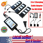 3 in 1 Cable Adapter For MJX B5W Quadcopter Battery B3 Balance Charger US AU CH