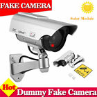 4 Pack 2 Pack Solar Bullet Fake Dummy Camera Security Flash Light Black Sliver
