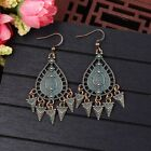 Hot Vintage Women's Bohemian Style Multicolor Shape Drop/Dangle Feather Earrings