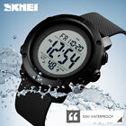 SKMEI Watch Men Watches LED Digital Waterproof Military Outdoor Sport Wristwatch image