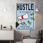 """""""Motiv-Art """"""""Take the risk or loose the chance - Monopoly Wall Art"""" for hustlers"""