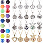 Bell Bola Ball Cage Harmony Pregnancy Baby Angel Caller Pendant Chain Necklace