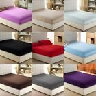 "Luxury Fitted Sheet Queen Size Multi Color 600 Thread Count Drop Up To 6"" To 18"" image"