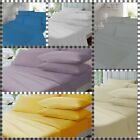 Thermal Flannelette 100% Brushed Cotton Soft Sheet Set In All UK Sizes
