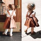 Внешний вид - Toddler Infant Baby Girls Strap Suspender Skirts Overalls Dress Outfits Clothes