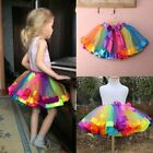 Внешний вид - Baby Girl Party Rainbow Tutu Skirt Princess Tulle Dance Dress Toddler