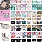 Sloth Llama Pattern Small Wallet Purse Cosmetic Pouch Travel Women Makeup Bag H1