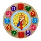 Kids Teaching Puzzle Card Games Digital Clock Cognition Time Education Toys J