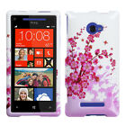 For HTC Windows 8X Design Snap-On Hard Case Phone Cover