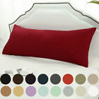 Body Pillow Case Soft 1800 Series Microfiber Long Bedding Body Pillow Covers image