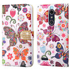 For ZTE Blade X Max Premium Leather Wallet Case Pouch Flip Cover + Screen Guard