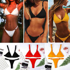 Triangle Push-up Padded Bra Bikini Set Swimsuit Women Bandage  Swimwear Bathing $3.92 USD on eBay
