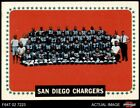 1964 Topps #175 San Diego Chargers Team 5 - EX $8.0 USD on eBay