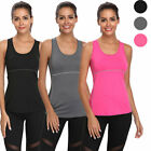Tank Tops for Women Plus Size Dry Fit Shirt Make a laughing-stock of Workout Yoga Sleeveless Vests