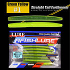 8pcs worm soft bait 10cm Fashion Lure New earthworm Bass Fishing lures 8 Colors