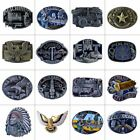 Western Cowboy Alloy Metal Vintage Men's Leather Belt Buckle Accessories $4.99 USD on eBay
