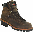 "Thorogood Men's 6"" Waterproof Soft Toe Logger Boots Made in the USA 814-3566"