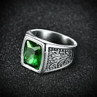 Fashion Retro Mens Solid Stainless Steel Tree of Life Ring Band Lots Jewellery