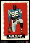 1964 Topps #157 Earl Faison Chargers GOOD $1.65 USD on eBay