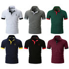 YCHENG Men's Polo Short Sleeve T-Shirt Various Colours Tennis Golf Classic Polo