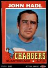 1971 Topps #255 John Hadl Chargers GOOD $0.99 USD on eBay