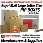Royal Mail Large Letter Size PiP Postal Postage Mailing Cardboard Boxes & Tubes