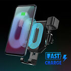Auto Clamping Wireless Car Charger Charging Gravity Air Vent Phone Mount Holder