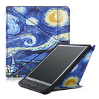 Slim PU Leather Stand Tri-Fold Cover Case For Kobo Forma 8 Inch 2018 B