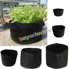 10 Pack Fabric Grow Pots Breathable Plant Bags 1,2,3,5,7,10 Gallon Smart bags...