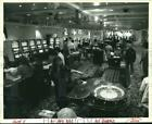 1994 Press Photo Queen of New Orleans riverboat casino's second deck interior